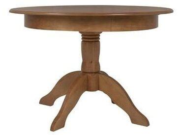 Table ronde table extensible jusqu'à 155 cm Tea - couleur Oak ou