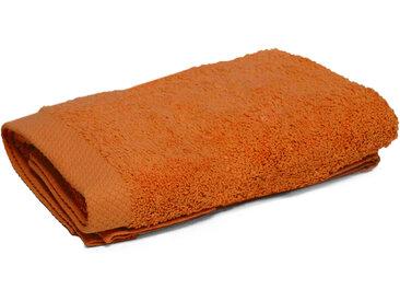 Serviette Invité 33x50 cm PURE Orange Safran 550 g/m2