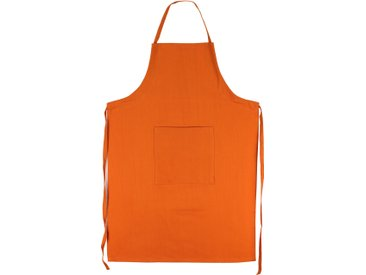 Tablier de cuisine 60x90 cm toile 100% coton PURE KITCHEN APRON Orange
