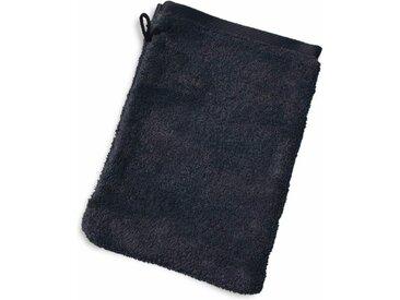 Gant de toilette 16x21 cm PURE Noir 550 g/m2