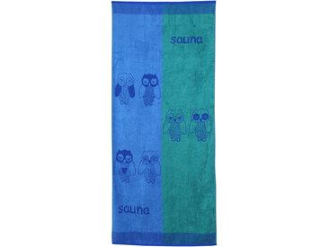 Drap de plage 85x200 cm 480 g/m² EULE Bleu