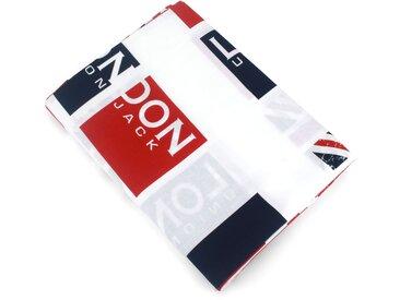 Drap plat 180x290 cm 100% coton LONDON Union Jack
