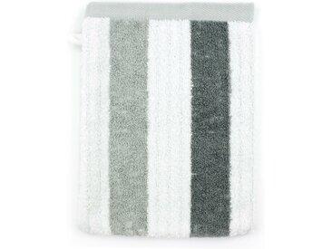 Gant de toilette 16x21 cm 100% coton 480 g/m2 CLASSIC STRIPES Gris