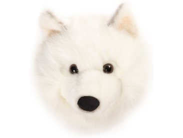 Peluche trophée Loup blanc Lucy collection Polaire