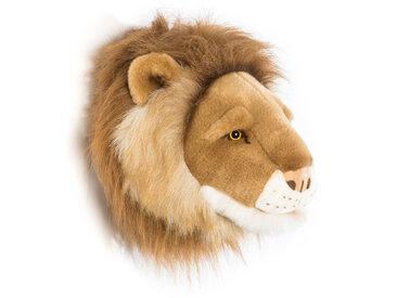 Peluche trophée Lion Petit Cesar collection Savane