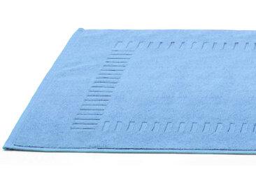 Tapis de bain 50x70 cm PURE Bleu Ciel 700 g/m2