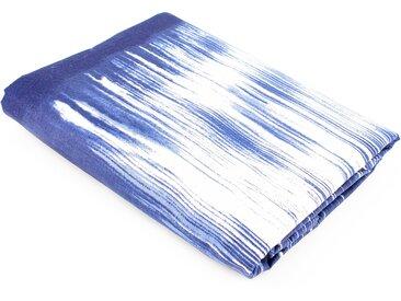 Drap plat 280x310 cm 100% coton SATYA bleu
