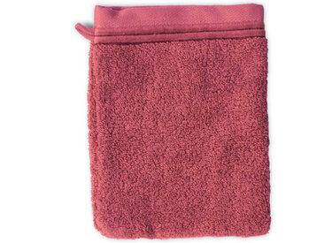 Gant de toilette 16x21 cm JULIET Rose 520 g/m2