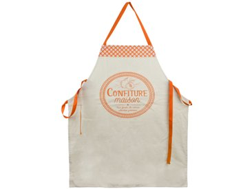 Tablier de cuisine Cucina Confiture Maison orange