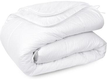 Couette 280x240 cm 4 saisons ELSA garnissage fibre polyester 200+300 = 500 g/m2