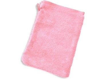 Gant de toilette 16x21 cm PURE Rose Bonbon 550 g/m2