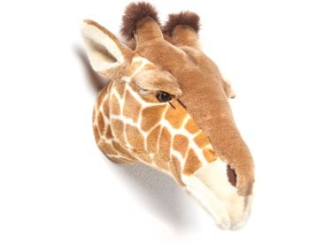 Peluche trophée Girafe Ruby collection Savane