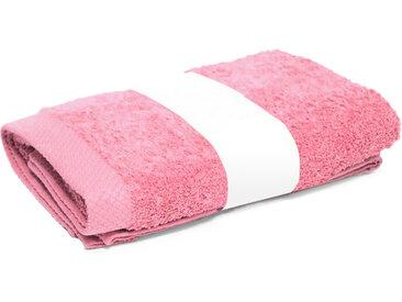 Serviette de toilette 50x100 cm PURE Rose Bonbon 550 g/m2