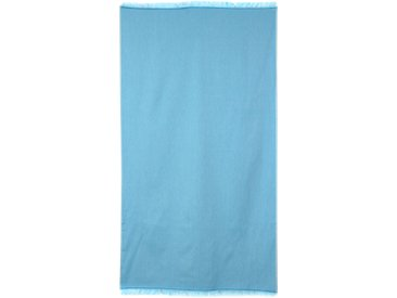 Drap de plage Fouta 100x180 cm 100% coton 290 g/m² RUGEN Turquoise
