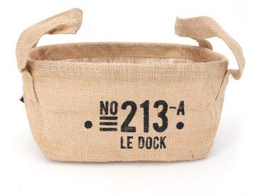 Panier de rangement 4L en jute beige / 213 LE DOCK