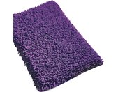 Tapis de bain 50x80 cm CHENILLE Violet 1800 g/m2