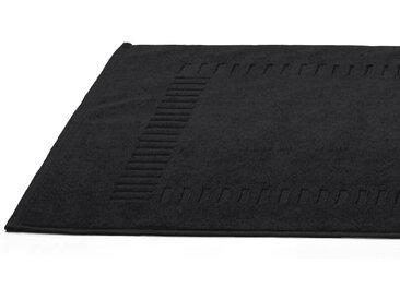 Tapis de bain 50x70 cm PURE Noir 700 g/m2