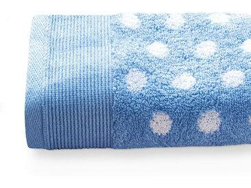Serviette invité 33x50 cm DOMINO Bleu 550 g/m2