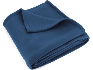 Couverture polaire 220x240 cm Isba Marine 100% Polyester 320 g/m2 traité non-feu