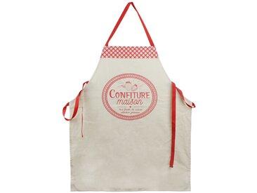 Tablier de cuisine Cucina Confiture Maison rouge