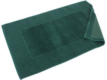 Tapis de bain antidérapant 60x90 cm velours PRESTIGE vert Kaki