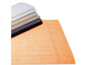 Tapis de bain 60x60 cm FLAIR Orange Mangue 1500 g/m2