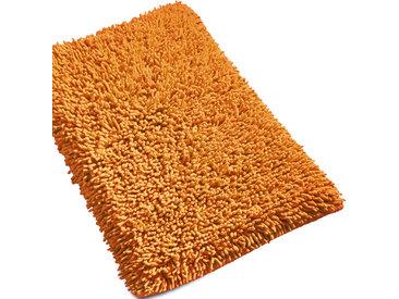 Tapis de bain 50x80 cm CHENILLE Orange 1800 g/m2