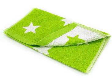 Serviette invité 33x50 cm 100% coton 480 g/m2 STARS Vert