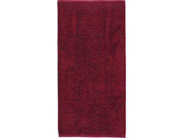 Drap de bain 100x150 cm JULIET Rouge bordeaux 520 g/m2