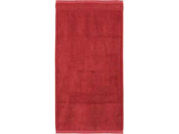 Serviette de toilette 50x100 cm JULIET Rouge Terracota 520 g/m2