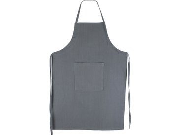 Tablier de cuisine 60x90 cm toile 100% coton PURE KITCHEN APRON Gris