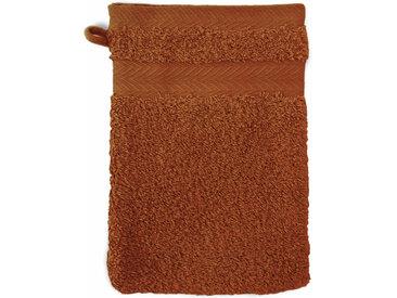 Gant de toilette 16x21 cm ROYAL CRESENT Jaune Topaze 650 g/m2