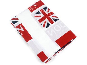 Drap plat 280x310 cm 100% coton LONDON Union Jack