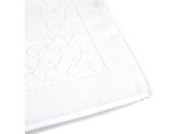 Tapis de bain 50x80 cm ROYAL CRESENT Blanc 850 g/m2