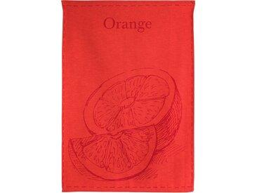 Torchon de cuisine toile 50x70 cm GEORGIA Orange
