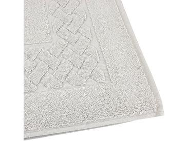 Tapis de bain 50x80 cm ROYAL CRESENT Gris Platine 850 g/m2