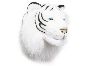 Peluche trophée Tigre Blanc Albert collection Polaire