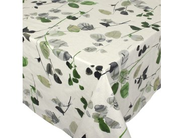 Nappe rectangle 160x300 cm 100% coton enduction acrylique FRENE ecru