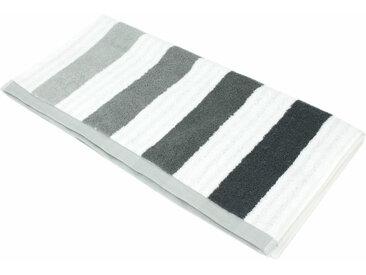 Serviette de toilette 50x100 cm 100% coton 480 g/m2 CLASSIC STRIPES Gris