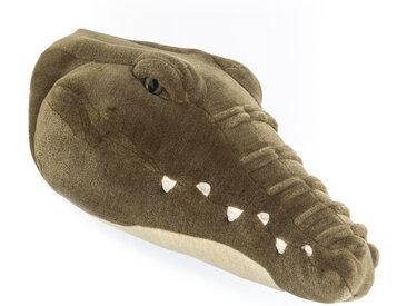 Peluche trophée Crocodile Frank collection Aquatique