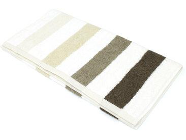 Serviette de toilette 50x100 cm 100% coton 480 g/m2 CLASSIC STRIPES Marron