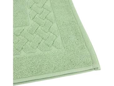 Tapis de bain 50x80 cm ROYAL CRESENT Vert Céladon 850 g/m2