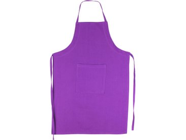 Tablier de cuisine 60x90 cm toile 100% coton PURE KITCHEN APRON Violet