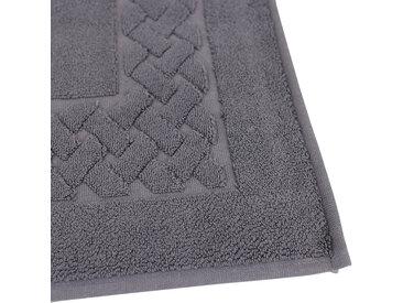 Tapis de bain 50x80 cm ROYAL CRESENT Gris Acier 850 g/m2
