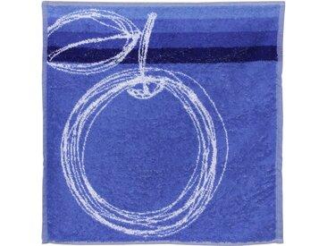 Torchon de cuisine éponge 50x50 cm LINE Bleu