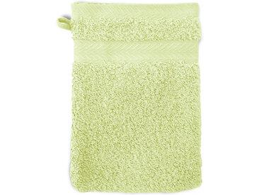 Gant de toilette 16x21 cm ROYAL CRESENT Vert Pastel 650 g/m2