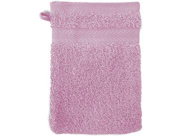 Gant de toilette 16x21 cm ROYAL CRESENT Rose Lavande 650 g/m2