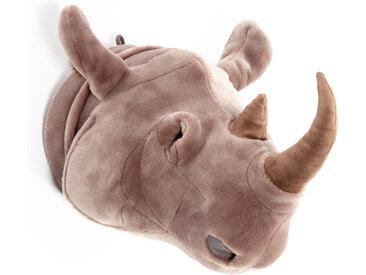 Peluche trophée Rhinocéros Michael collection Savane