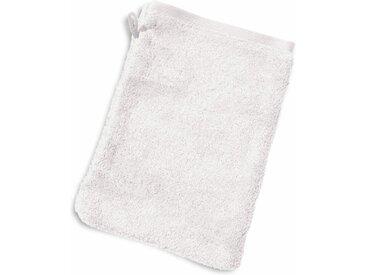 Gant de toilette 16x21 cm PURE Blanc 550 g/m2