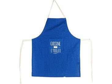 Tablier de cuisine MOTS bleu